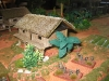 Hektik bei den Hütten