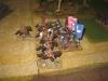 Und die Kürassiere gegen das Reggimento Monferrato