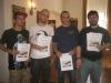 Die Bemalsieger: EPP, Kharnath, DaMoiti, Severian (Best of Show)