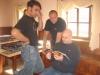 Georg, Stefan und Tom