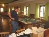 Hahnc studiert den Mortheim-Tisch