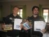 Die stolzen Bemalsieger: Django und Severian (2 Preise!)