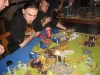 Watzinger beobachtet jede noch so kleine Bewegung auf dem Spieltisch