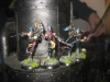 Die Harlequins greifen den Wasserturm an