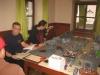 Team Plasmabugs bei der Stillbeschäftigung