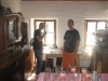 Ein Spieltisch im Abseits (Asmodei und AtTheGates)