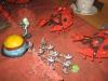 Die Warpspinnen greifen die Nemesis von Malantai an