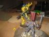 Der Phantomritter weicht dem Angriff aus