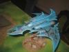 Einer der genial bemalten Dark Eldar Flieger (Severian)