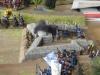Die Savoyer-Geschütze eröffnen die Schlacht