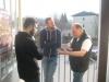 Heftige Diskussionen (die Schlendriane und Andreas Hofer in der Mitte)