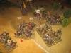 Das Kavalleriegefecht an der linken Flanke geht an die Schweden