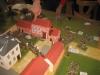 Hougoumont: die Franzosen sind eingedrungen