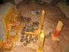 Die Tempel-Erstürmung in vollem Gang