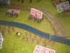 Preußen und Grenzer liefern sich ein Feuergefecht am Hühnerfließ