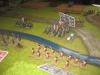 Die Preußen massieren ihre Truppen nahe der Furt