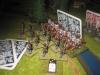 Die preußischen Dragoner überreiten die Grenzer