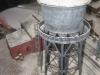 Verschneiter Wasserturm