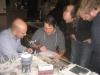 Zauberlehrling (Mitte), der würdige Best-Table-Gewinner mit seinem Ungarn-Tisch