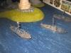Die britischen Schnellboote laufen aus