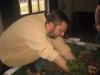 Lord Goas mit vollem Körpereinsatz ab ins Gebüsch