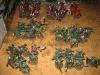 Deathguard und Khorne-Berserker, Seite an Seite
