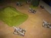 Die deutsche Artillerie steht bereit