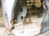 Kleine ungarische Trupps durchstreifen die Ruinen