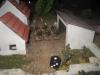 Die Lanziere attackieren die Panzergrennies im Dorf