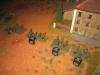 Die Grenadiere, bereit den Ort zu stürmen