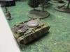 Ein gepanzerter Mun-Schlepper der Deutschen