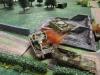 Und ein Panzer IV brennt aus