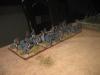 13:40 Uhr: Die preussisch-österreichsiche Batterie trifft an der rechten Flanke ein