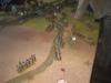Die Chevaulegers der Sachsen rücken bei Aderklaa vor