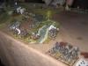 Die rechte Flanke wird verbreitert, der Russbach überquert