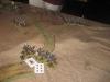 Die Husaren haben die Chevaulegers zurückgedrängt, halten den Hügel nahe Aderklaa