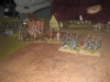 Mameluken und Jäger verteidigen den Zugang nach Aderklaa