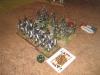 Die Preussen attackieren die Sachsen-Jäger und vernichten sie