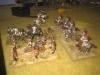 Die Sachsen-Kürassiere überreiten die Positions-Batterie