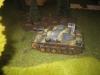 Der Panzer III wartet auch schon im Dickicht
