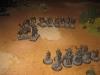 Die Milites Christi von Sisyphus behaupten das Schlachtfeld