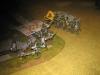 Die Dragons a pied werden von der Landwehr angegriffen