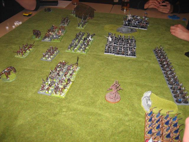 HdR-Ringkrieg: die Armeen