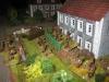 Das Dorf wird Haus für Haus erstürmt