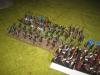 Angriff der Normannen am linken Flügel