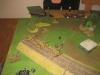 Listenreichs Panzer im Vorstoß über den Bahndamm