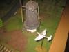 Stuka und Windmühle - beinahe ein Stilleben