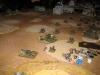 Die deutsche Artillerie schiesst sich ein