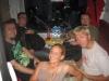 Anreise im Nachtzug: Manuel, Alex, Kati, Peter und Peter