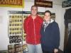 Besuch von Warlord: Steve Morgan und Kristen Hager